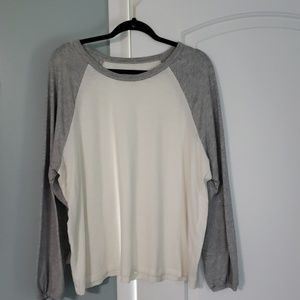 XXL Aerie Real Soft Baseball Tee